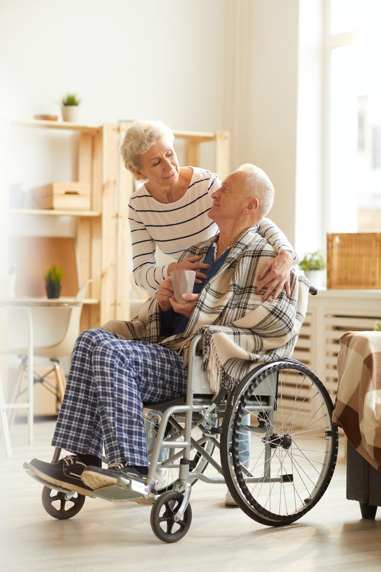 Caring Senior Couple